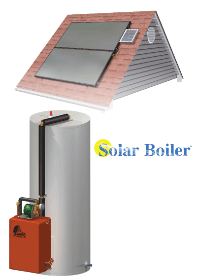 Solar Boiler - Solar Domestic Water Heating System